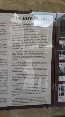 Sedirhan Restaurant: History of Buyuk Han