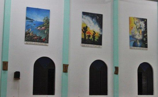 Puerto Villamil, Ecuador: Iglesia interno