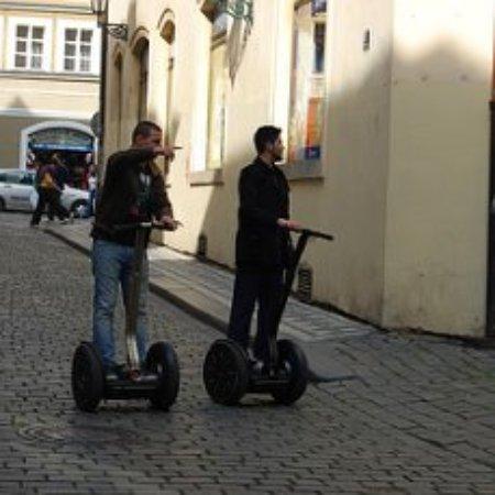 Prague On Segway, on E-Scooter, on Quad : вы увидите все ,что хотели,самые укромные улочки не останутся без вашего внимания