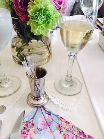 Centurion, South Africa: Table setting