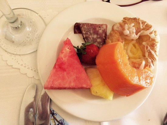 Centurion, South Africa: Breakfast from the buffet