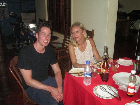 Gurudeniya, Sri Lanka: BBQ dinner at Sarath's home in Kandy.