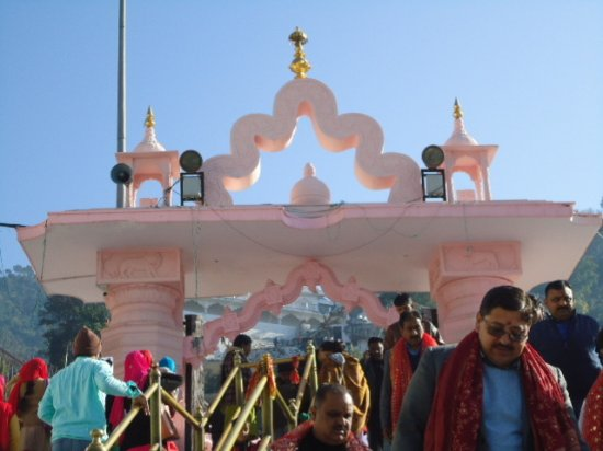 Jwalamukhi, India: The Temple.