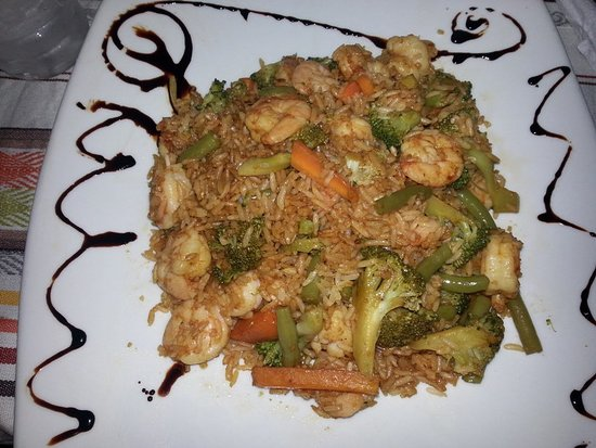Cesar's Restaurant: Arroz camarones