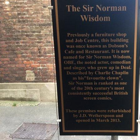 Sir Norman Wisdom