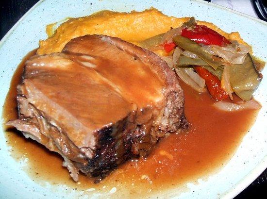 Blue Lagoon Restaurant - Disneyland Paris : Prime beef rib and sweet potato
