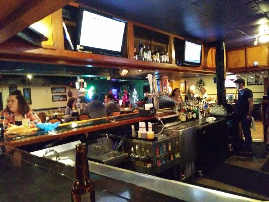 Captain Bill's Gulfside Tavern: From Bar, Watching the Live Band