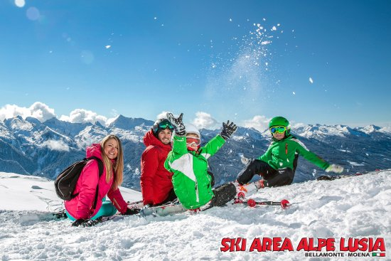 Moena, Italien: We Love Snow!