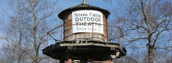 Snow Camp, NC: The Water Tower