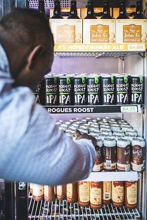 The Gahan House: We have lots of retail beer to go