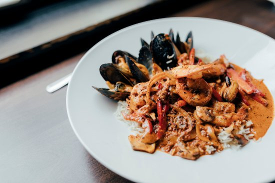 The Gahan House: Seafood jambalaya
