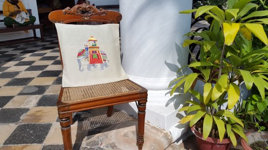Cluny Embroidery Centre: Pillow covers