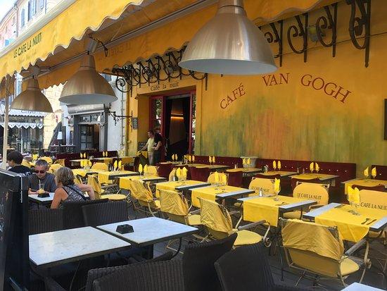 Le Café La Nuit : Van Gogh Cafe