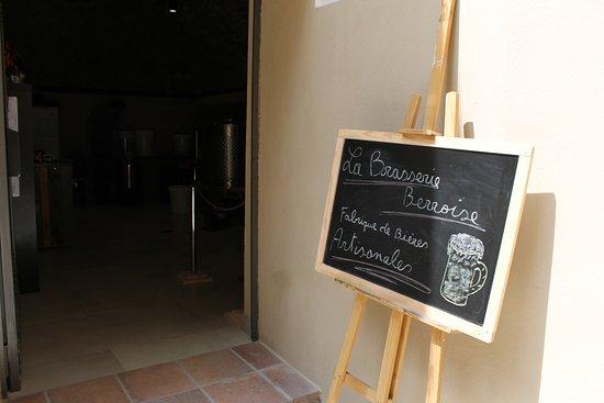 Berre-les-Alpes, Francja: Brasserie Artisanales de Berre les Alpes