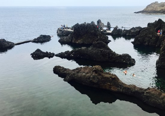 Porto Moniz, Portugal: Piscines naturelles