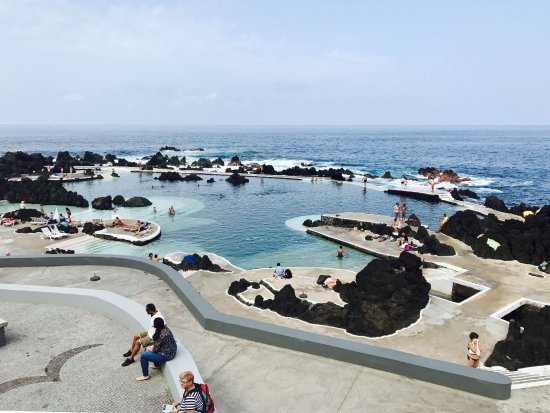 Porto Moniz, Portugal: Parc aquatique