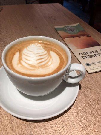 Drymen, UK: oder ein Kaffee...