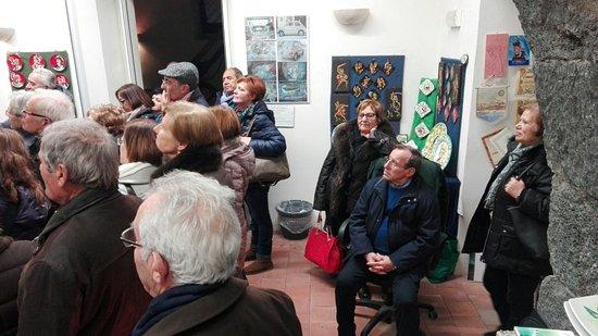 Aci Sant'Antonio, Italia: Visita al museo gruppo venuto da Gela