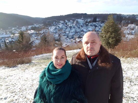 Freudenberg, Tyskland: Ну как не сфоткаться на фоне такой красоты!