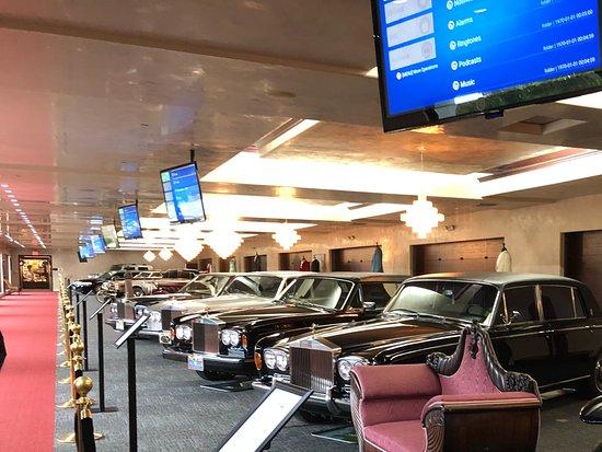 Wayne Newton S Casa De Shenandoah Exotic Car Collection In His Museum