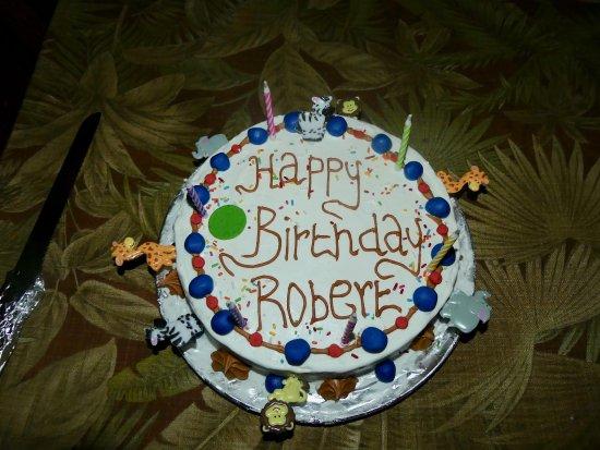 Meru National Park, Kenia: Birthday surprise!