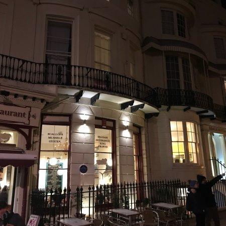 regency restaurant brighton omd men om restauranger. Black Bedroom Furniture Sets. Home Design Ideas