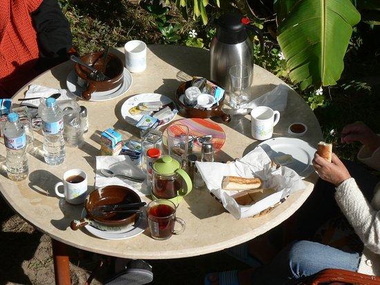 Desert Paradise Lodge: Last breakfast in 2017