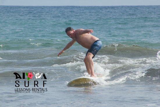 Esterillos Oeste, Costa Rica: Surf lesson