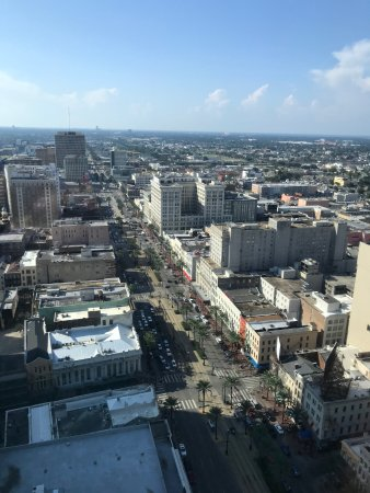 Sheraton New Orleans Hotel : View from 36th Floor