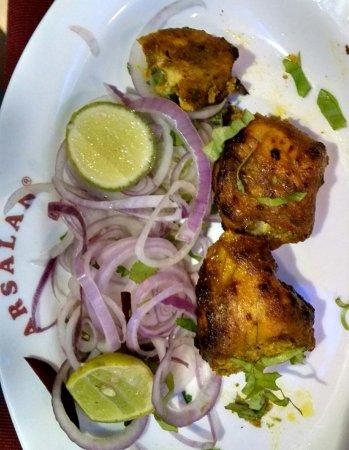 Arsalan: Fish tikka