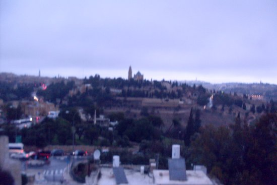 Dan Boutique Jerusalem: view of Temple Mount