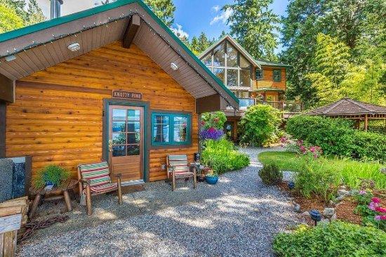 Sechelt, Καναδάς: Studio Cabin Private Entrance