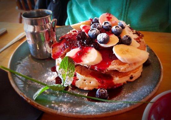 Mountain Cafe Aviemore: Great breakfast pancakes!