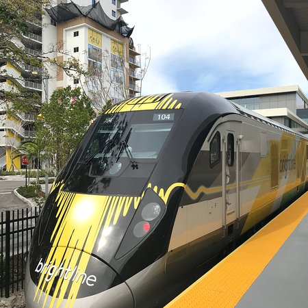 Brightline Express Train