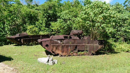 RITC - Rock Island Tour Company - Day Tour in Palau: Peleliu History Tour