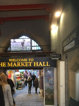 Main Entrance To The Indoor Market Picture Of Durham Market Hall