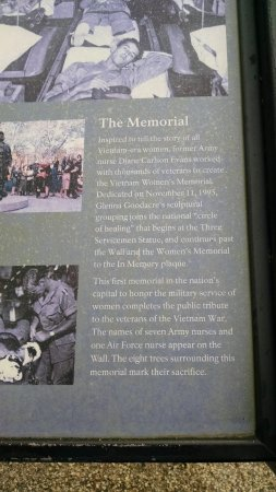 Vietnam Women's Memorial Photo