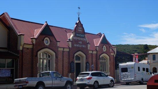 Zeehan, Australia: Museum (Old School) Frontage