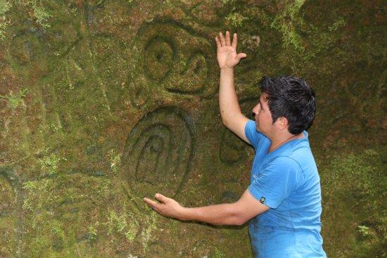Yurimaguas, Perú: Petroglifo de Cumpanama Tours Balsapuerto