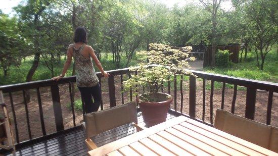 Marloth Park, Sydafrika: varanda mais do que agradável
