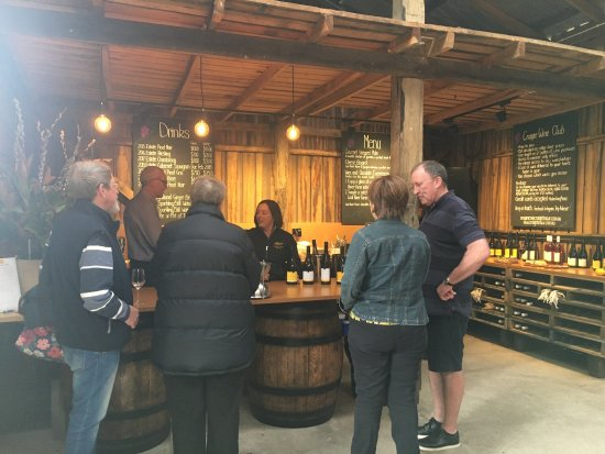Cranbrook, Australia: The old winery makes for a lovely cellar door