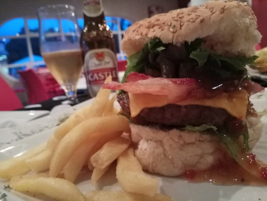 Storms River, South Africa: hamburguer