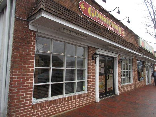 Georgetown, DE: Entrance from street
