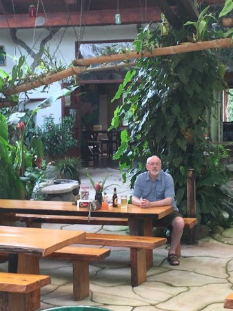 San Vito, Costa Rica: Very open and comfortable.