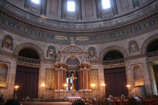 Iglesia de Mármol (Iglesia de Federico): Frederiks Kirke - Altar and Dome