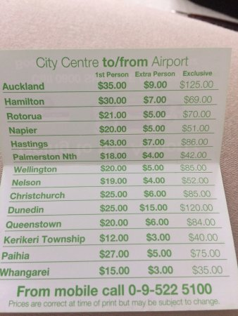 Super Shuttle Auckland Central All You Need To Know