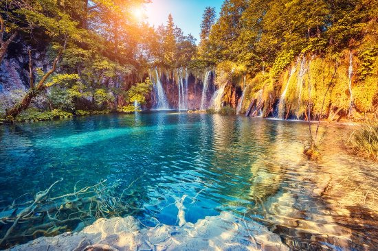 Задар, Хорватия: Plitvice Lakes National Park Day Trip