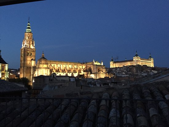 Hotel Santa Isabel : View from rooftop patio.
