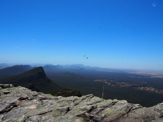 Dunkeld, Australien: view from the top looking northwards