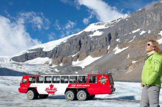 Banff to Athabasca Glacier Full-Day ...